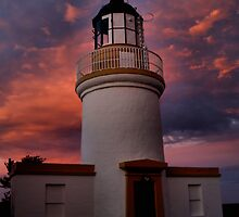 Lighthouse evening by Calum Davidson