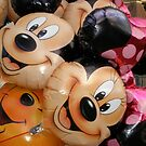Micky and Minnie Mouse balloons by sassygirl