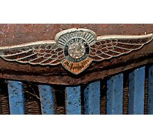 Old Dodge Truck Badge Photographic Print