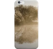 Beautiful Misty River Sunrise Landscape iPhone Case/Skin