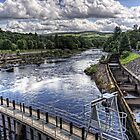 Pitlochry Fish Ladder by Tom Gomez