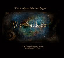 Wolf Battle Original by Pendragon-Art