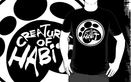 Creatures of Habit Circle Logo T by G. Patrick Colvin