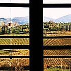 Window on Chianti by gluca