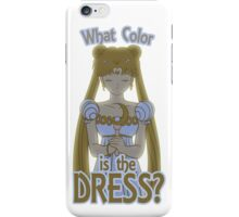 What Color is the Dress? iPhone Case/Skin