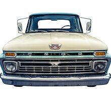 Vintage Ford Pickup Truck by mrdoomits