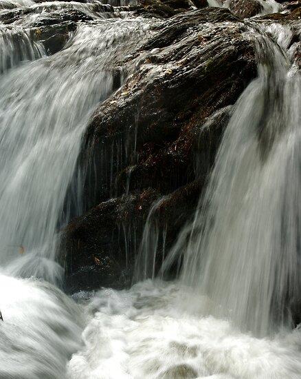 Rapids Above Turtletown Creek West Falls III by John O'Keefe-Odom