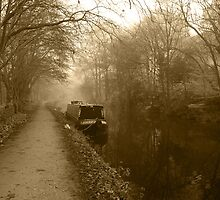 Canal (Sepia) by WatscapePhoto