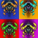 Digital Art - Underwater Color by Henry Jager