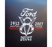 Ford V8 Photographic Print