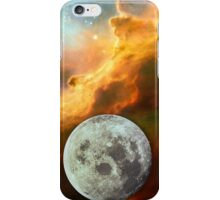 Starfield moon rising iPhone Case/Skin