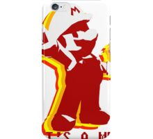 It's a Me! Mario! iPhone Case/Skin