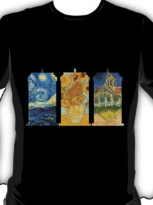 Vincent and The Doctor (Black) T-Shirt