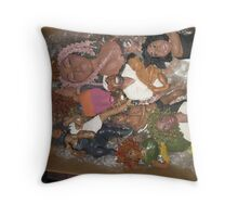 moving day for Daily Impressions members Throw Pillow