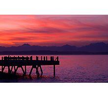 Alki Pier Photographic Print