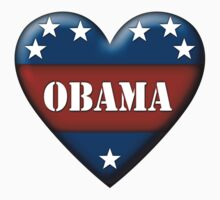 obama heart by asyrum