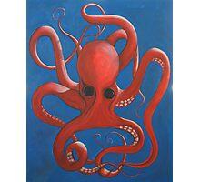 Octopus Oil Photographic Print