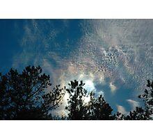 Iridescent Skies  Photographic Print