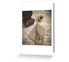 Textiles Greeting Card