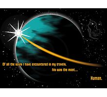Boldly gone. Photographic Print