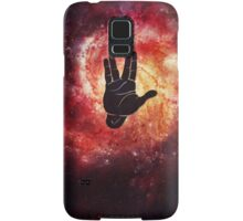 Spocks Hand Galaxy Samsung Galaxy Case/Skin