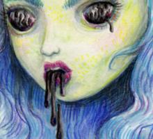 Spooky Unicornia and the Black Ooze Sticker