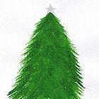 christmas tree  by hannahbear