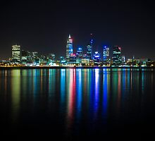 Perth Skyline by Paul Pichugin