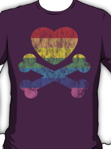 heart and crossbones T-Shirt
