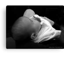 The Baptism Canvas Print