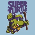 Super Turtle Bros - Donnie by Punksthetic