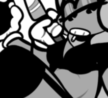 Toon Violence  Sticker