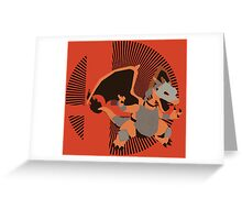 Armored Charizard (Smash) - Sunset Shores Greeting Card