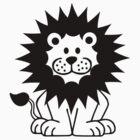 Comic lion by Designzz
