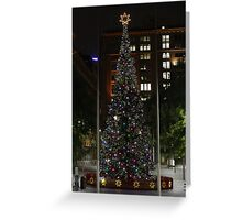 Xmas in Martin Place, Sydney. Greeting Card