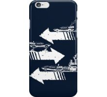 Back to the Future Trilogy Minimalism iPhone Case/Skin