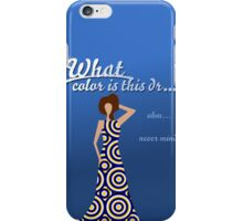 What color is this dress? iPhone Case/Skin
