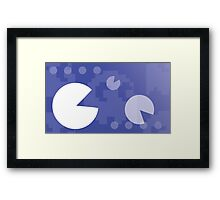 Retro Games: Pac-Man  Framed Print