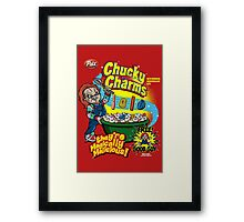 Chucky Charms Framed Print