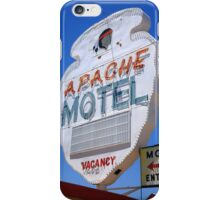 Route 66 - Apache Motel in Tucumcari iPhone Case/Skin