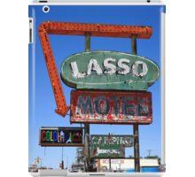 Route 66 - Lasso Motel iPad Case/Skin