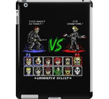 Super 80's Good Vs. Evil! iPad Case/Skin
