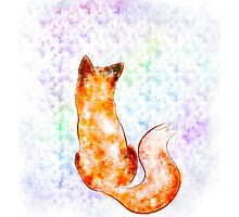 Watered fox Photographic Print