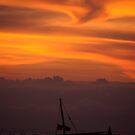 Dhow Sunset by Matt  Streatfeild