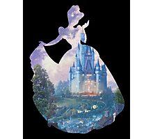 Cinderella Silhouette Photographic Print