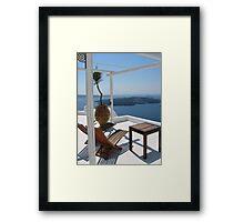 Aegean Lifestyle Framed Print