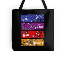 The Good, The Smart, The Bad, and The Hungry Tote Bag