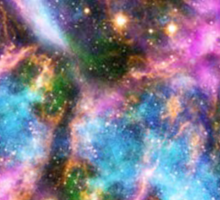 Galaxy Black Hole Sticker