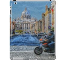 Rome intersection iPad Case/Skin