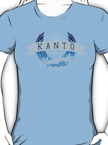 Kanto Region University_Dark BG T-Shirt